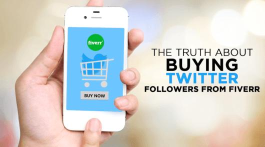Buying Twitter followers on fiverr