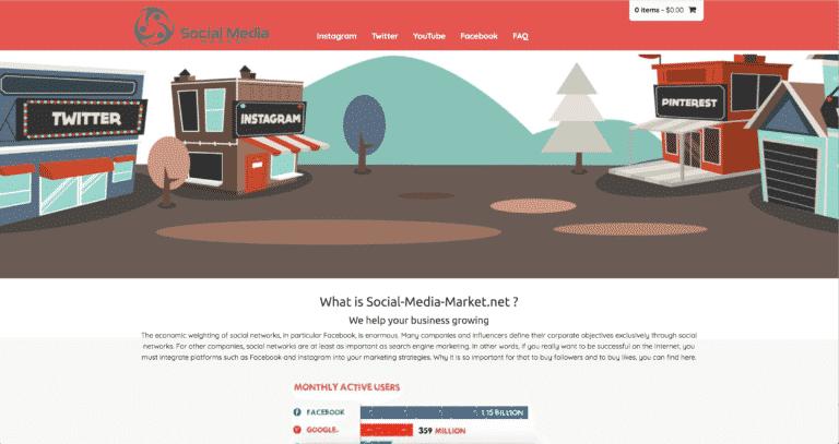 SMM Landing Page