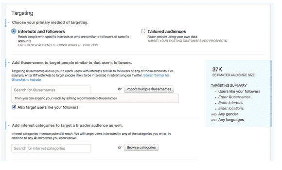 How To Set Up A Twitter Follower Campaign