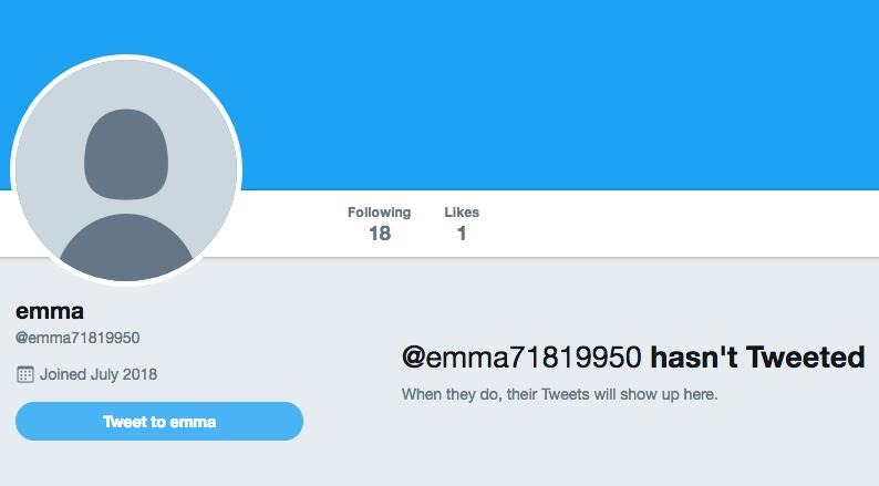 bad twitter follower example