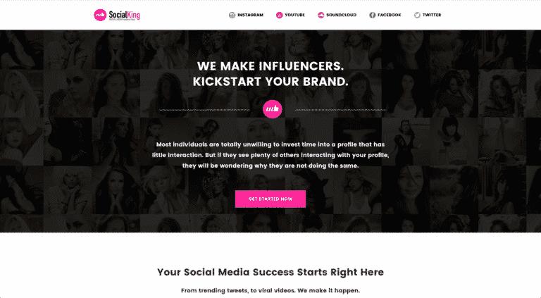 SK homepage