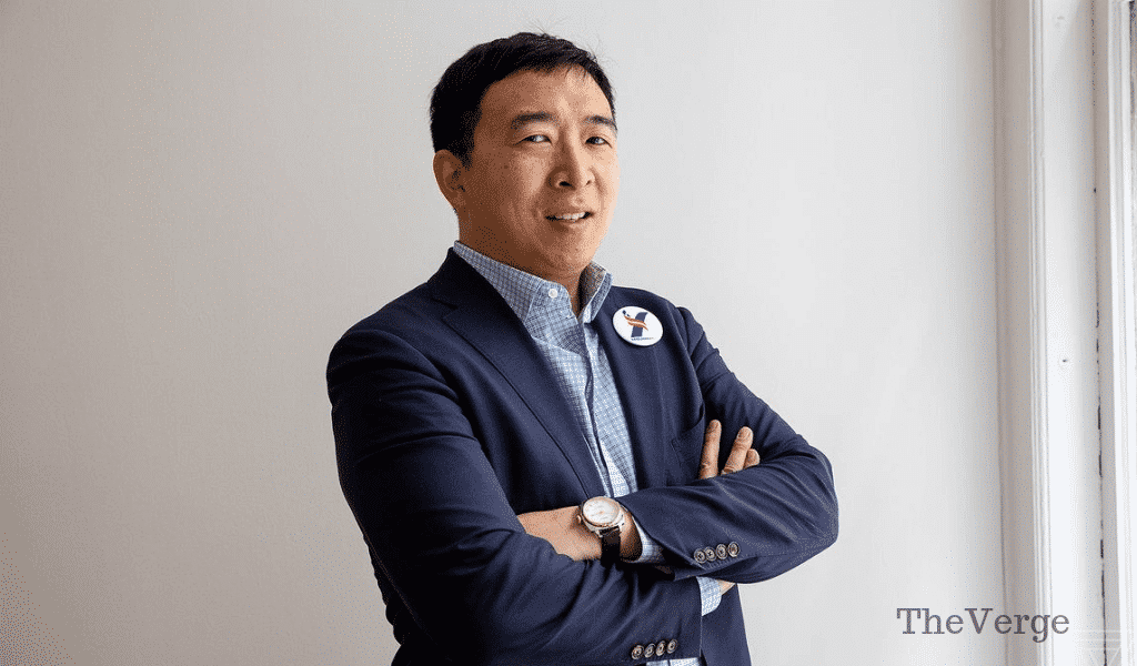 Andrew Yang will give a $12,000 basic income to a random Twitter follower