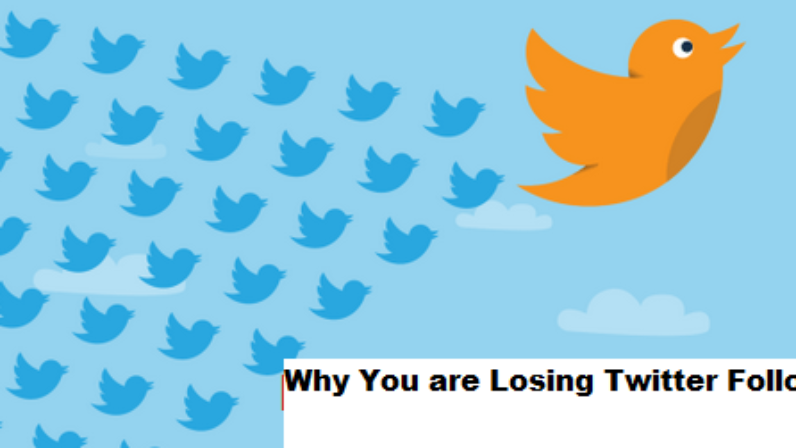 Why You are Losing Twitter Followers