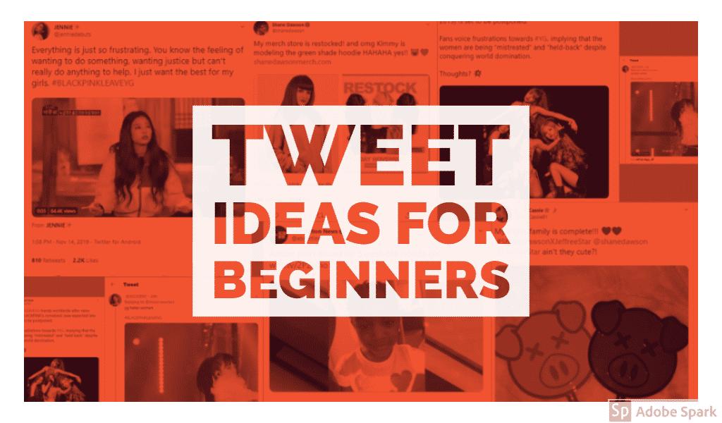Tweet Ideas For Beginners