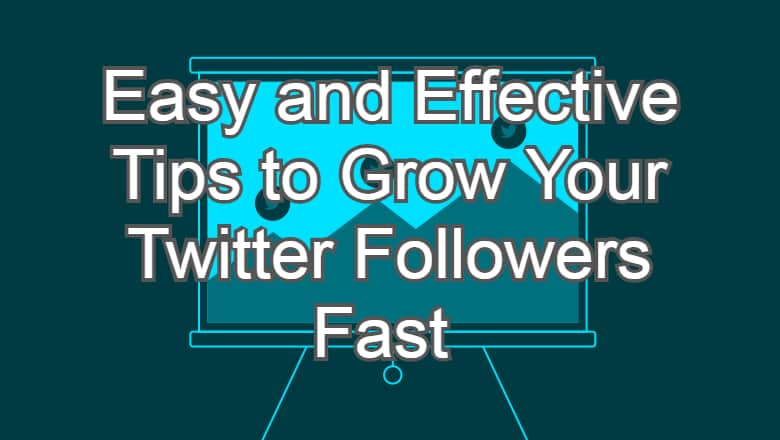 Easy and Effective Tips to Grow Your Twitter Followers Fast