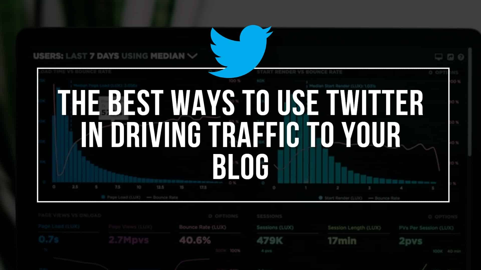 The Best Ways to Use Twitter in Driving Traffic to Your Blog
